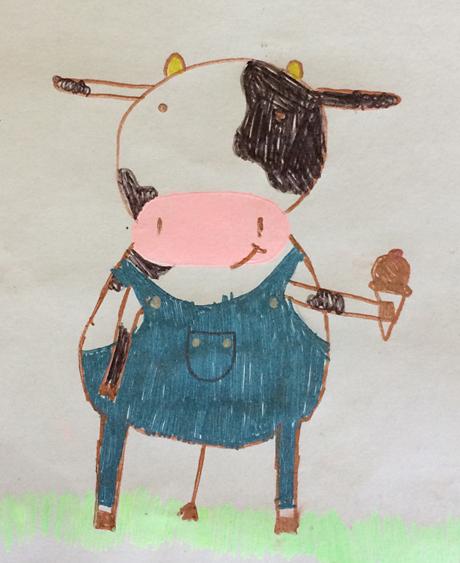 Drawing of Moo